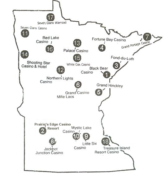 Casinos In Minnesota